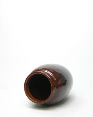1065 – vaas met duo kleur bruin – grijs