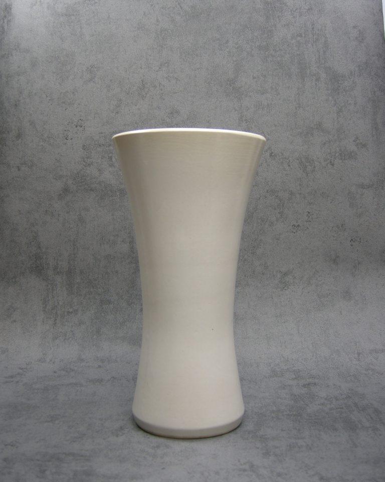 1036 vaas Vetter 601-25 jaren 60 wit