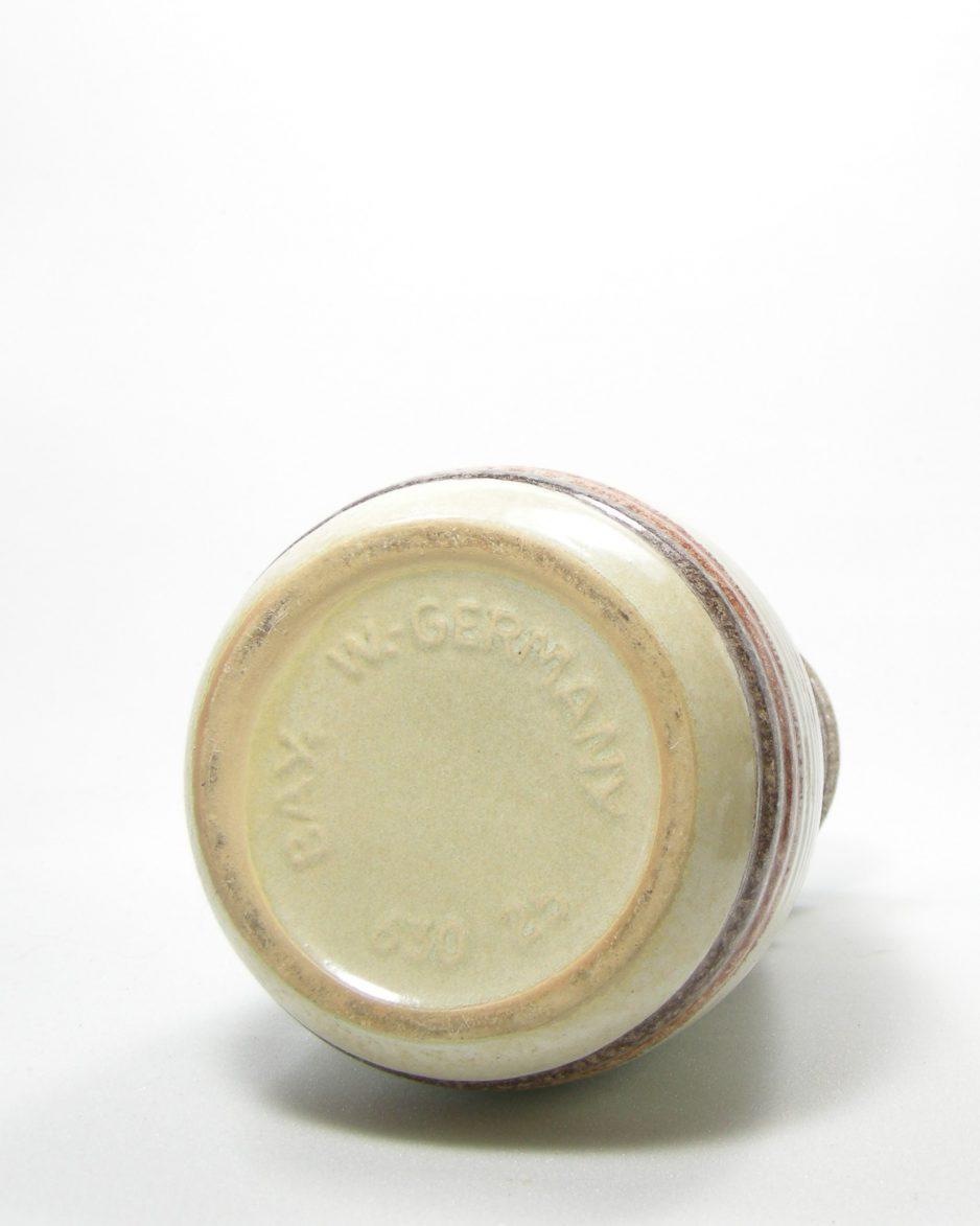 1095 - vaas Bay Keramik 630-25 bruin - beige