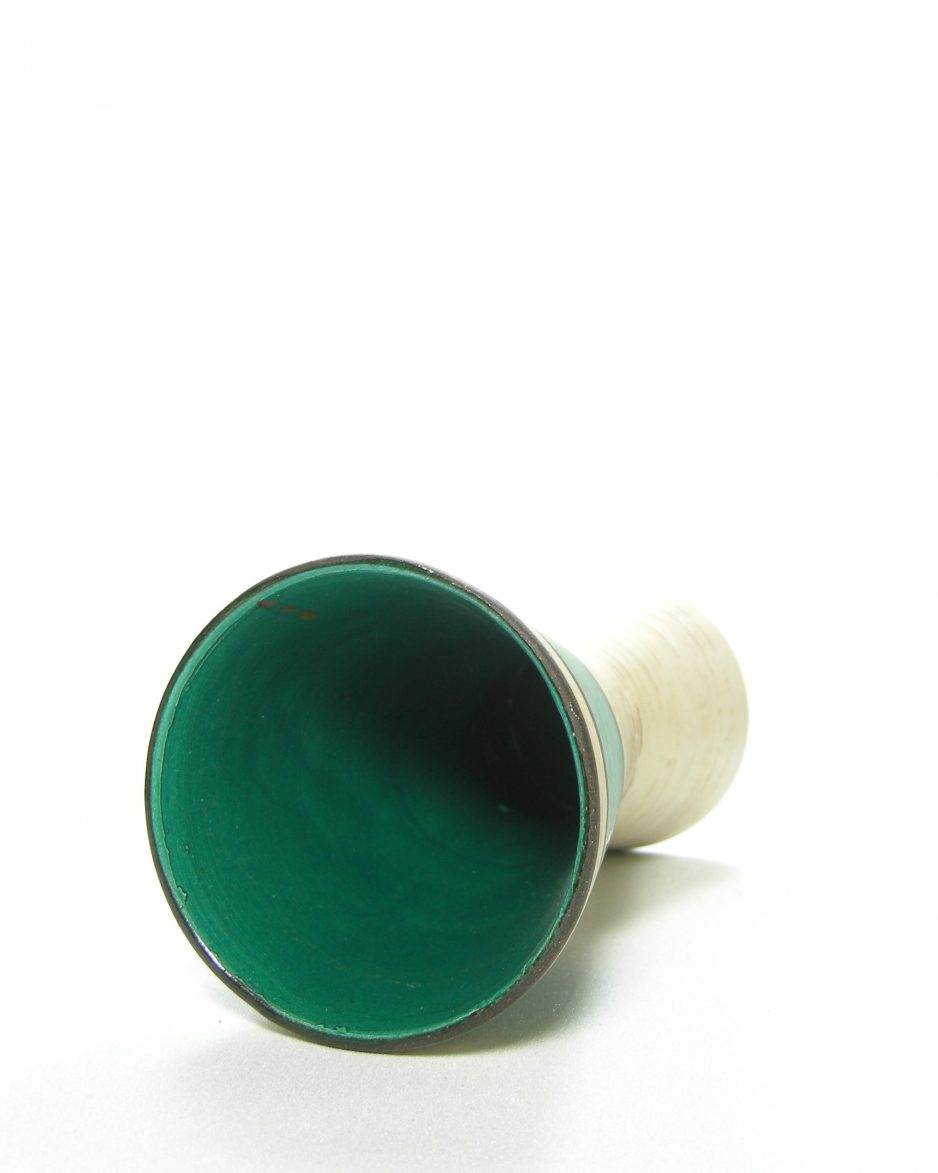 1096 - vaas Scheurich 244-17 beige - groen - zwart