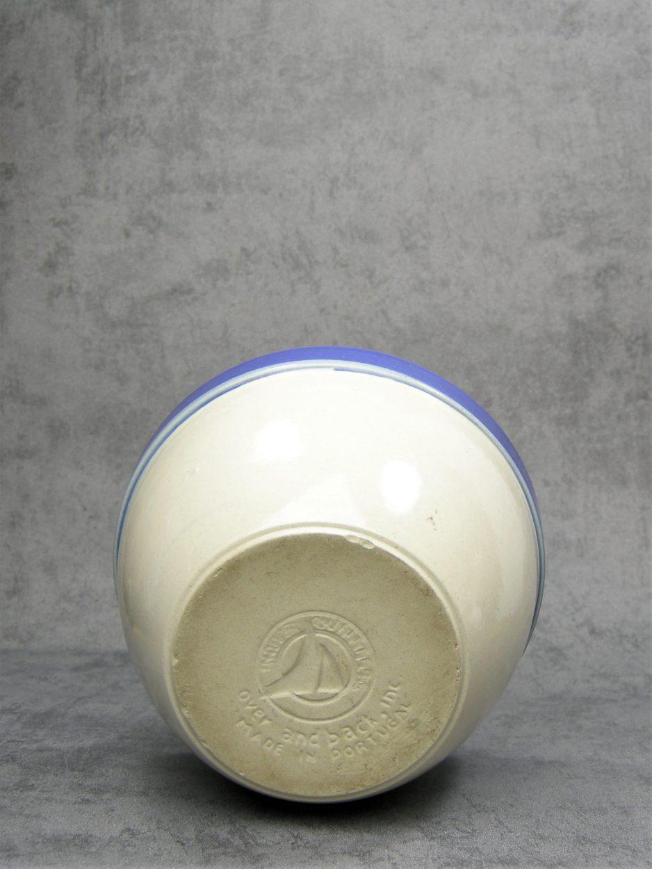 1142 - schaal Portugal blauw - crème