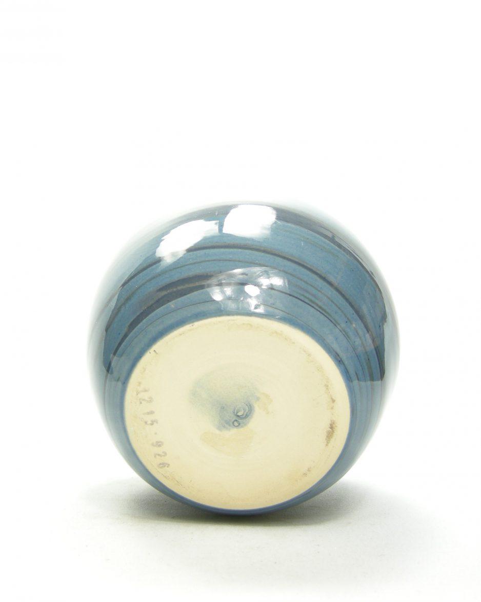 1175 - vaas 1215-926 blauw gestreept