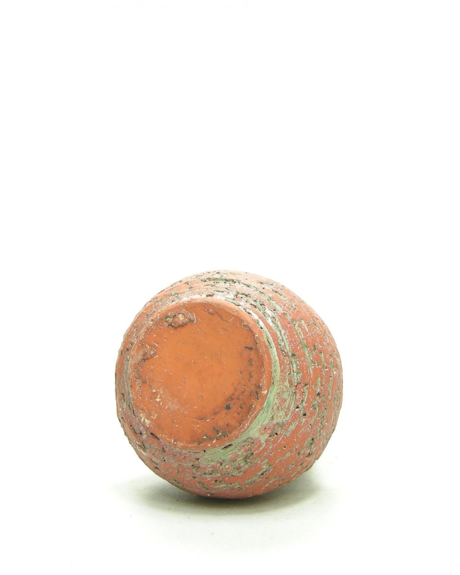 1195 - vaas berkenbast rood - groen