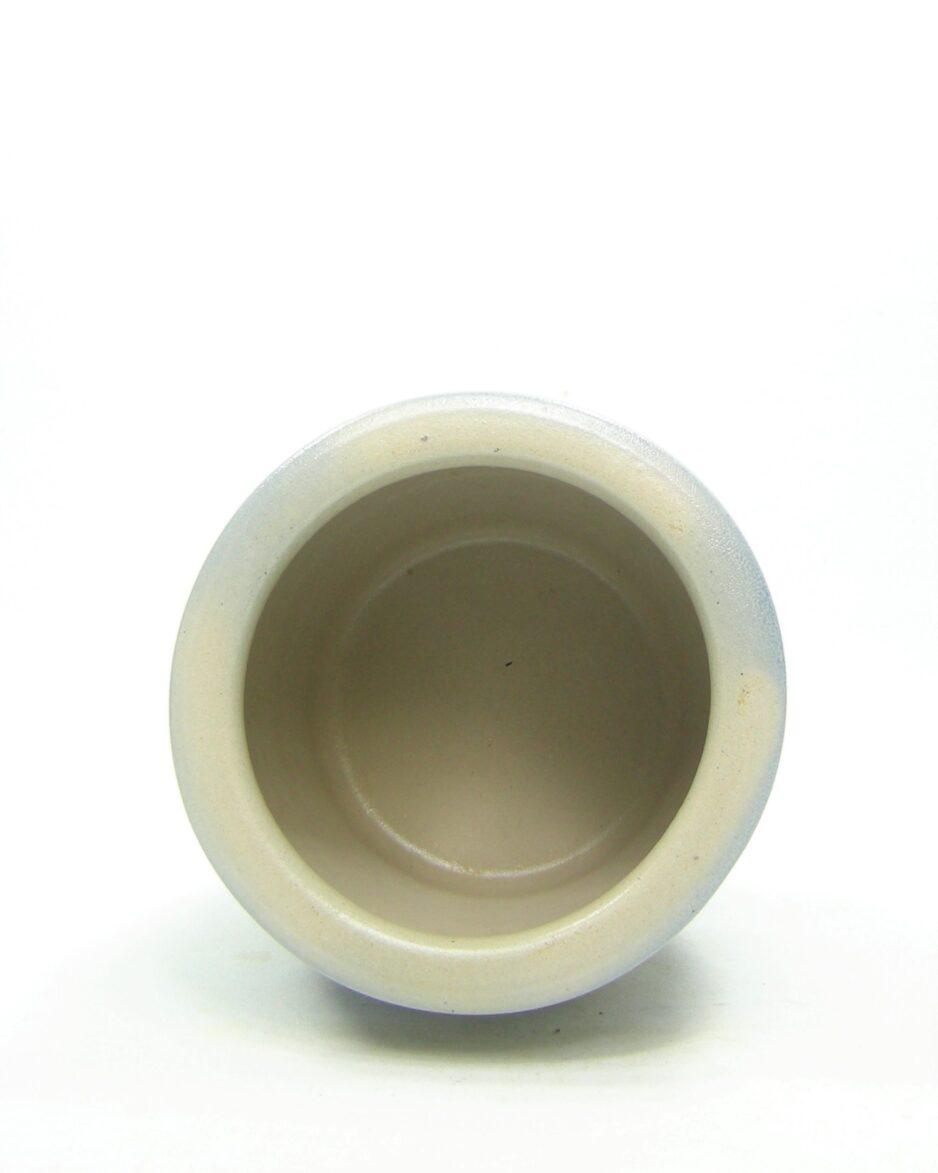 1199 - wand zoutpot Keuls aardewerk grijs - blauw