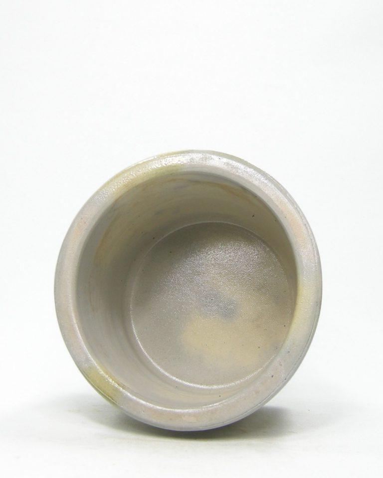 1207 – bloempot Keuls aardewerk grijs – blauw