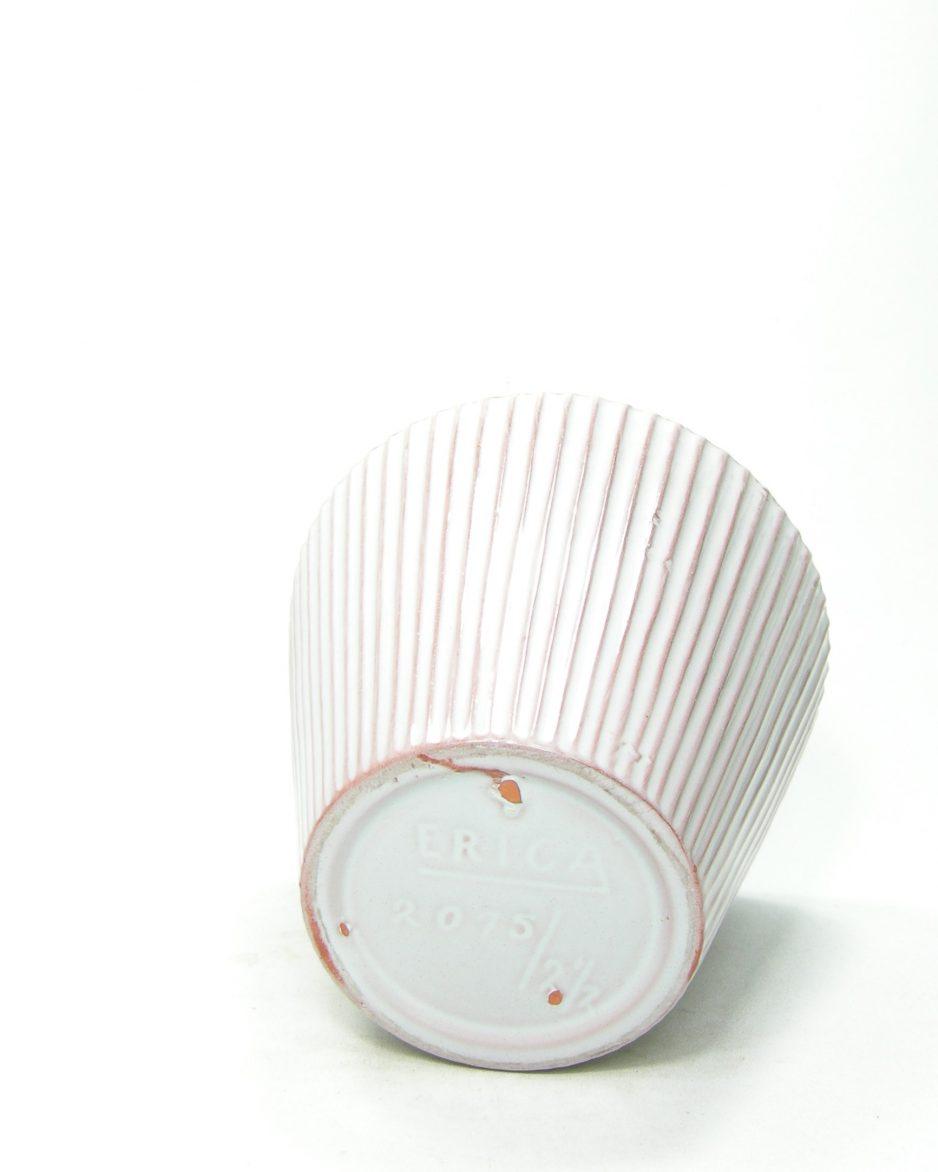 1225 - bloempot Erica 2075/2,5 wit