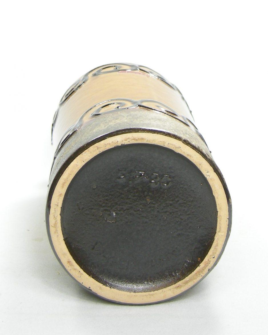 1273 - vaas Scheurich 517-30 bruin - zwart