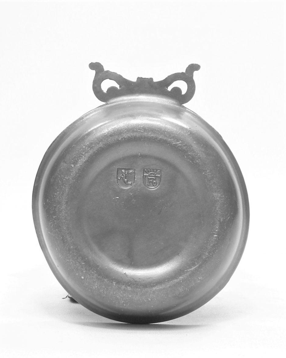 1274 - kandelaar tin Foca Oosterbeek