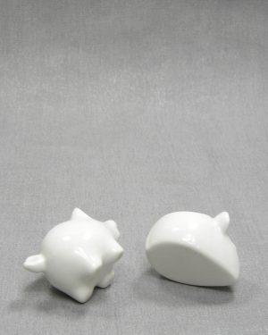 1282 – kandelaartjes muis en varken wit