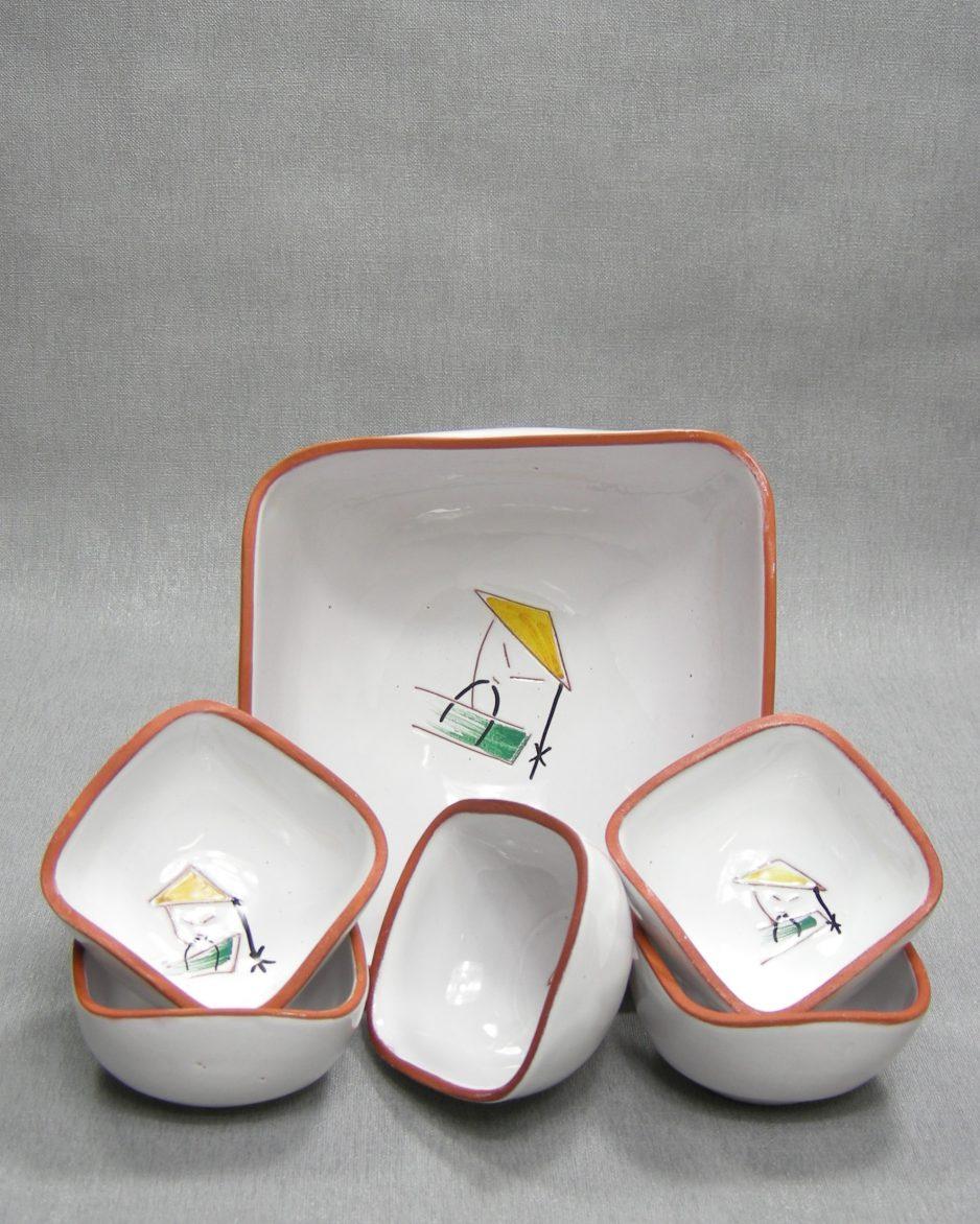 1285 - pinda set vierkant wit met afbeelding