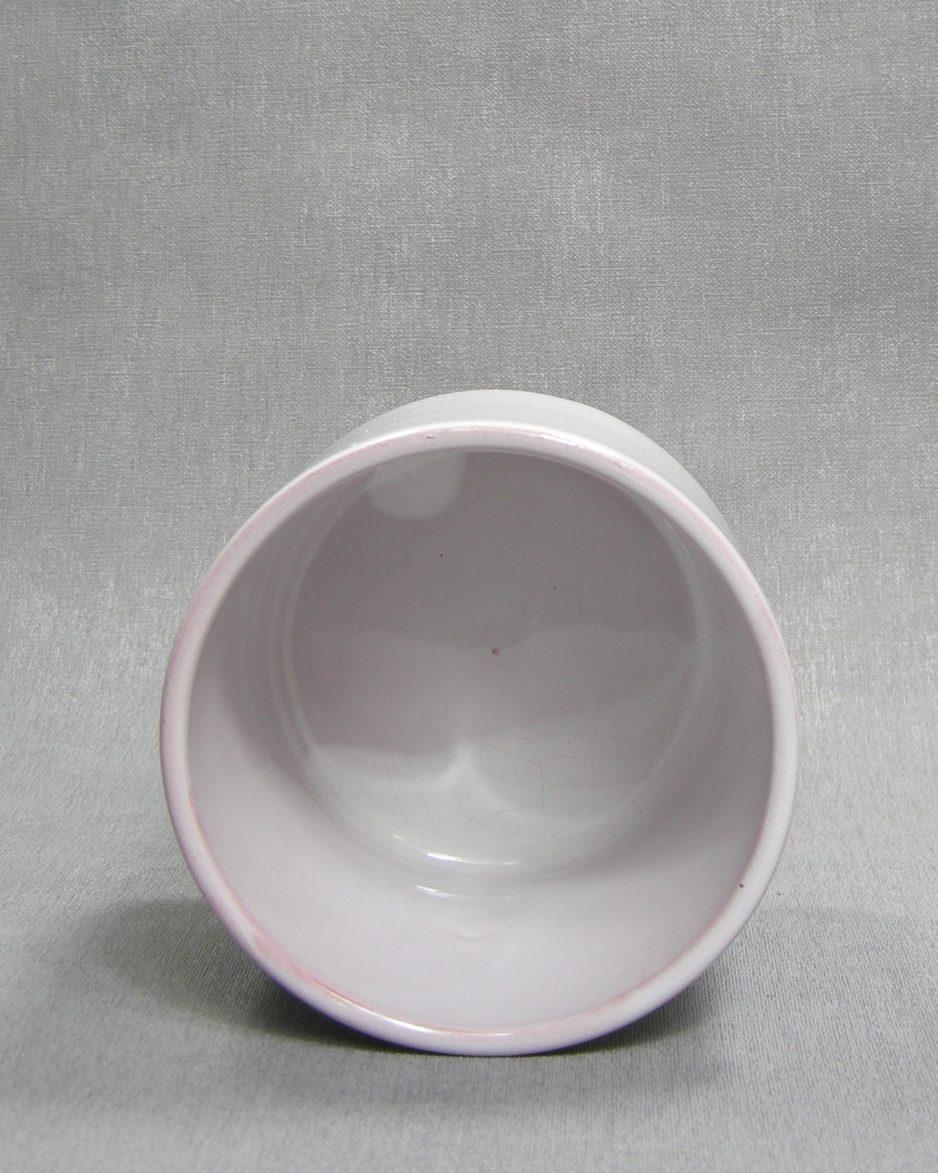 1292 - bloempot ADCO 9 wit