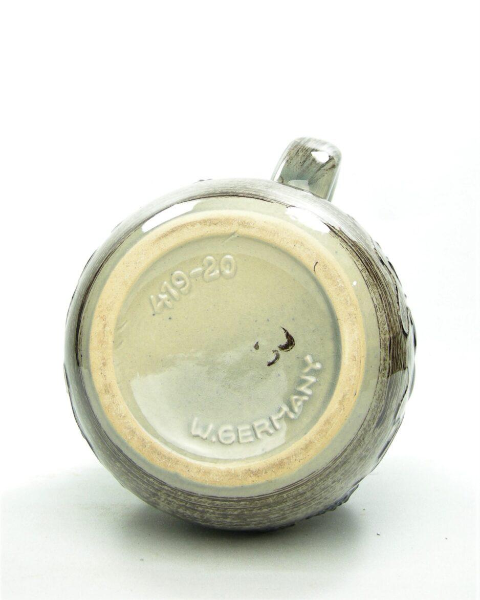 943 - pitcher Scheurich 419-20 bruin - blauw