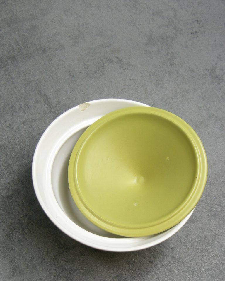 965 – schaaltje REGINA Gouda Floris Meydam jaren 60 groen 3 (2)
