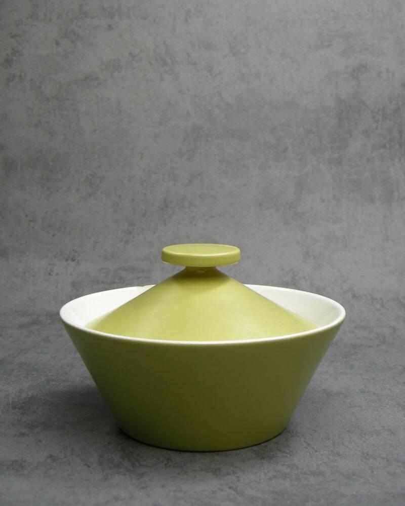 965 - schaaltje REGINA Gouda Floris Meydam jaren 60 groen