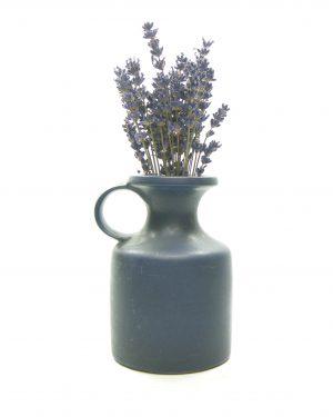1313 – vaas Westraven Keramik Keruska Sinatra Germany 101 blauw (2)