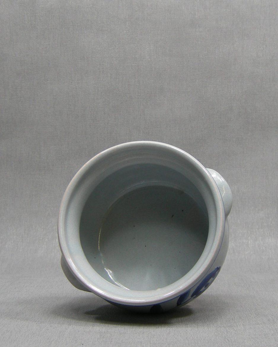 1314 - bloempot GDR 833-14 blauw