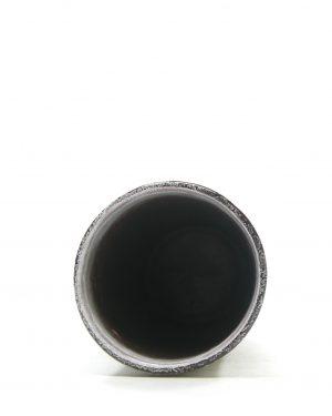 1316 – vaas Strehla 30 bruin – wit (8)