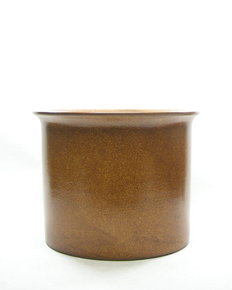 1318 – bloempot groot retro bruin (1)