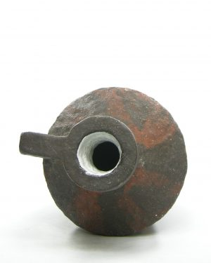 1320 – vaas – kruik van Tol zwart – bruin (3)