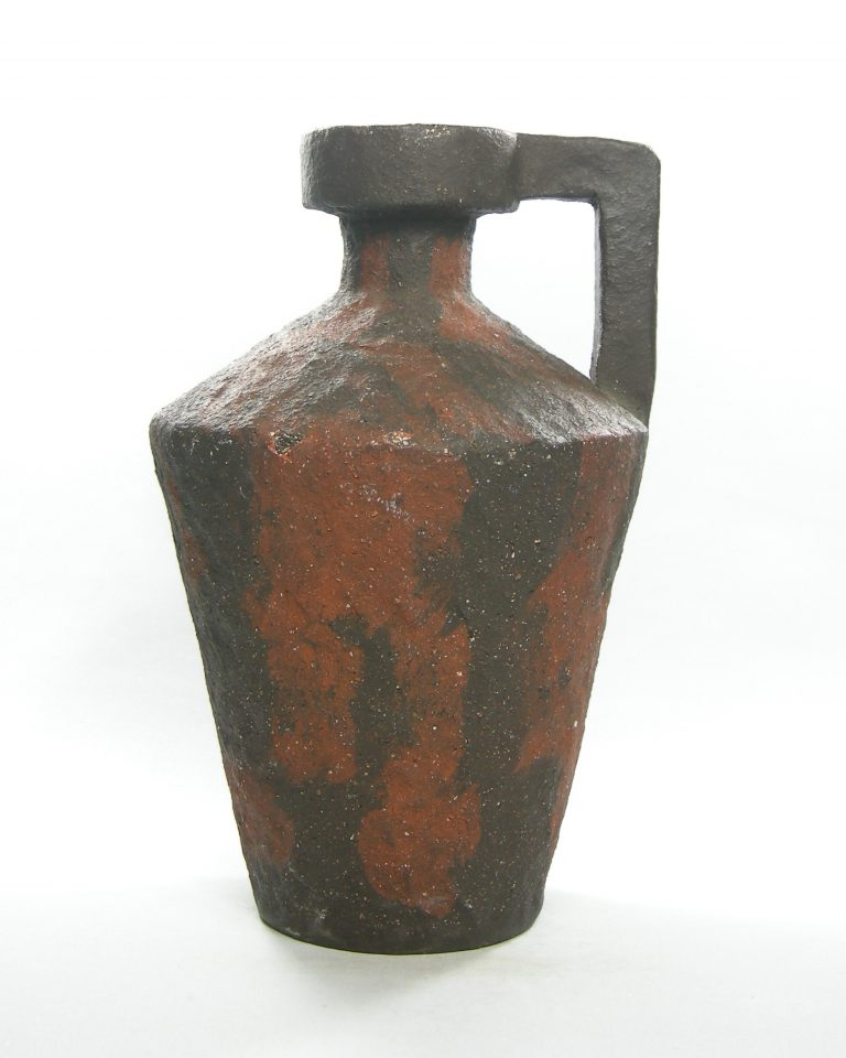 1320 – vaas – kruik van Tol zwart – bruin (5)