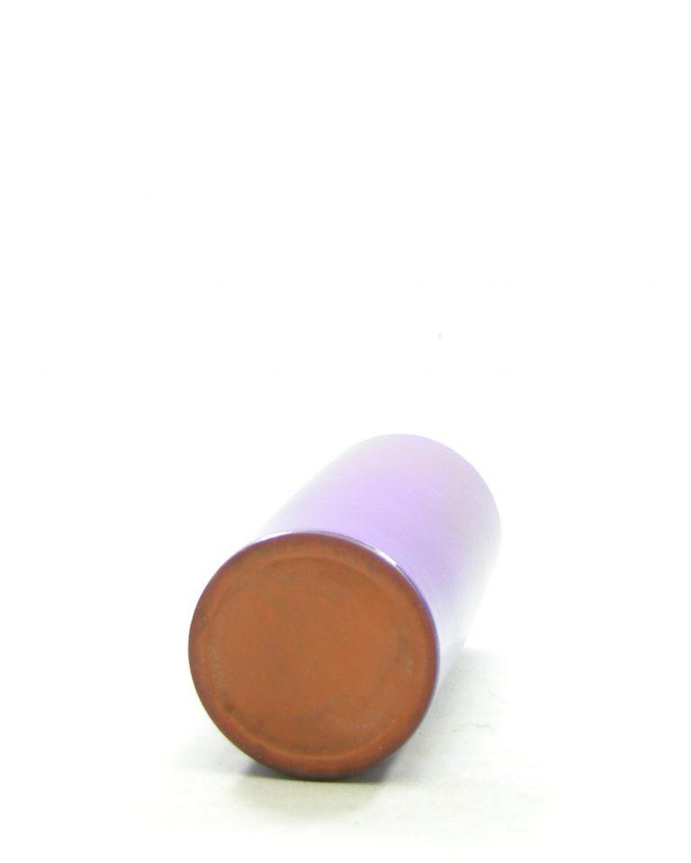 1321 – vaas – bloempotje cilinder vorm paars (2)