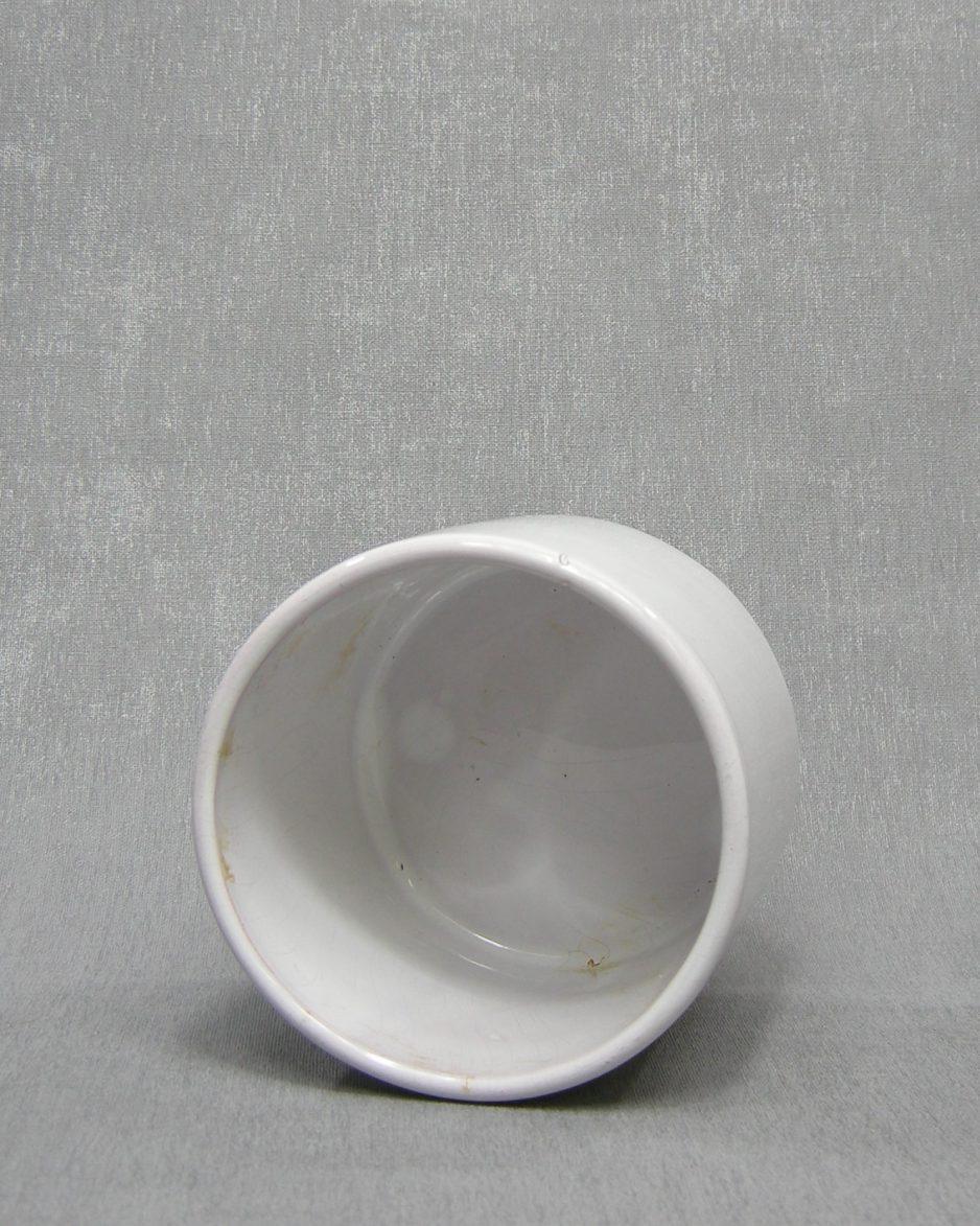 1212 - bloempot ADCO 219 wit