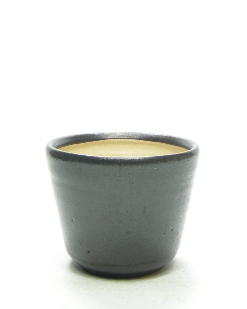 1374 - bloempot Mobach zwart