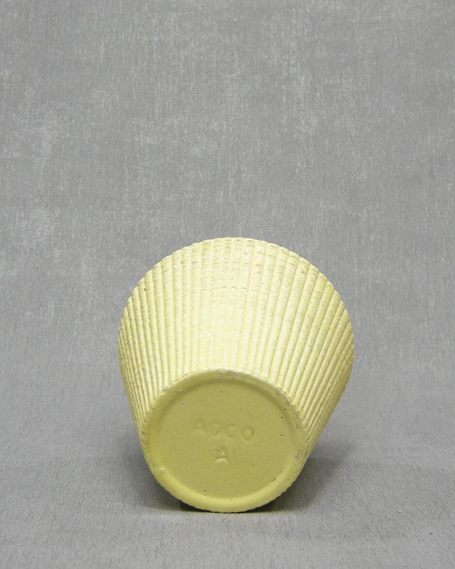 1341 - Bloempot ADCO A geel