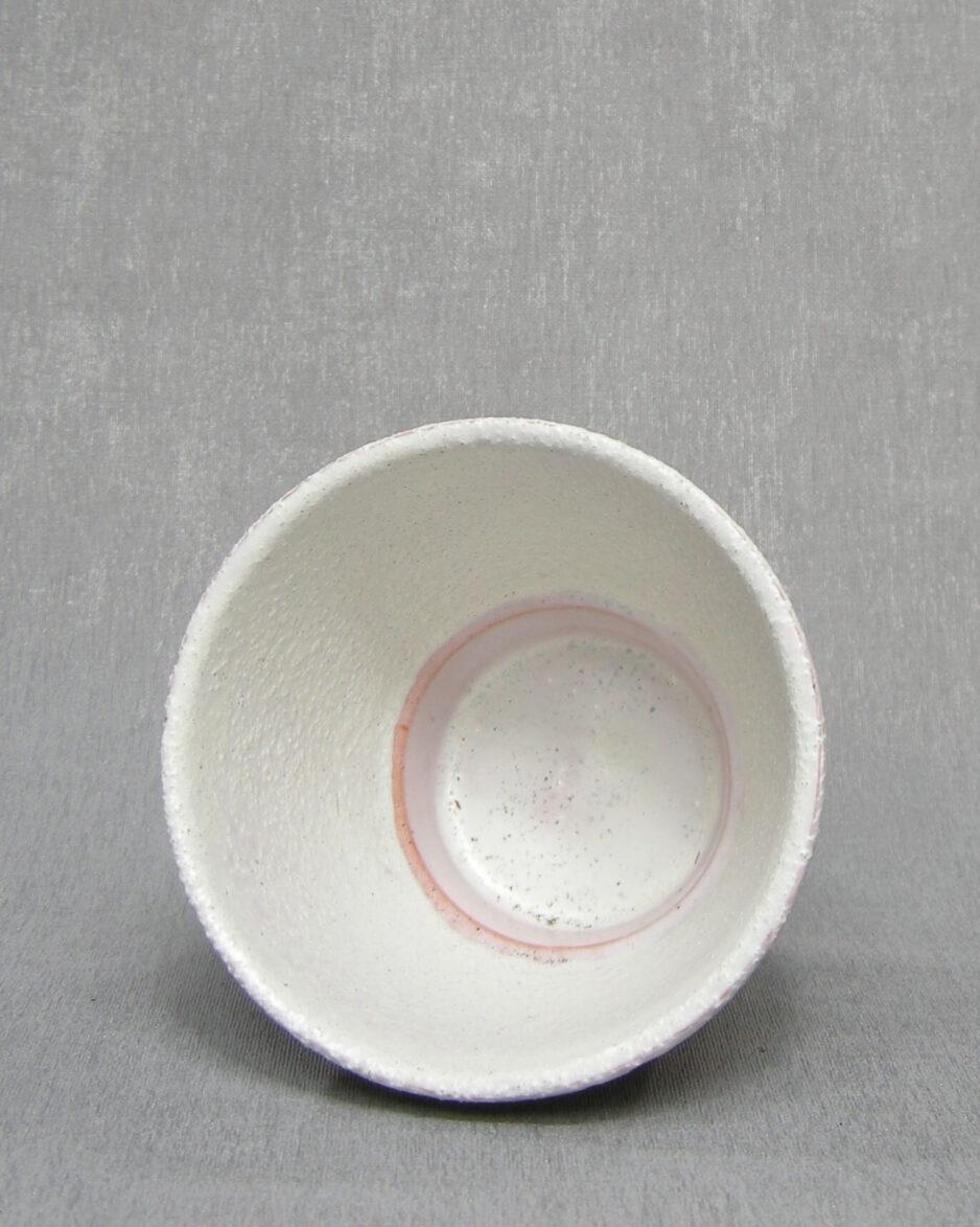 1351 - bloempot ADCO 21171 wit - bruin - groen