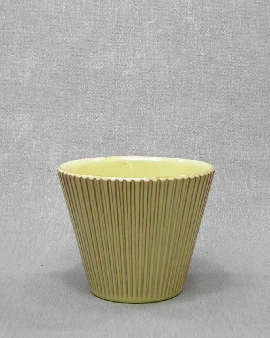1356 - bloempot ADCO A geel