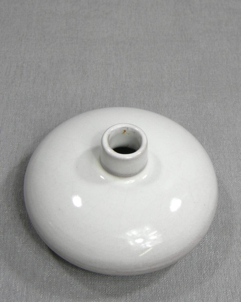 1405 - vaasje Westraven Utrecht discus model 602 wit