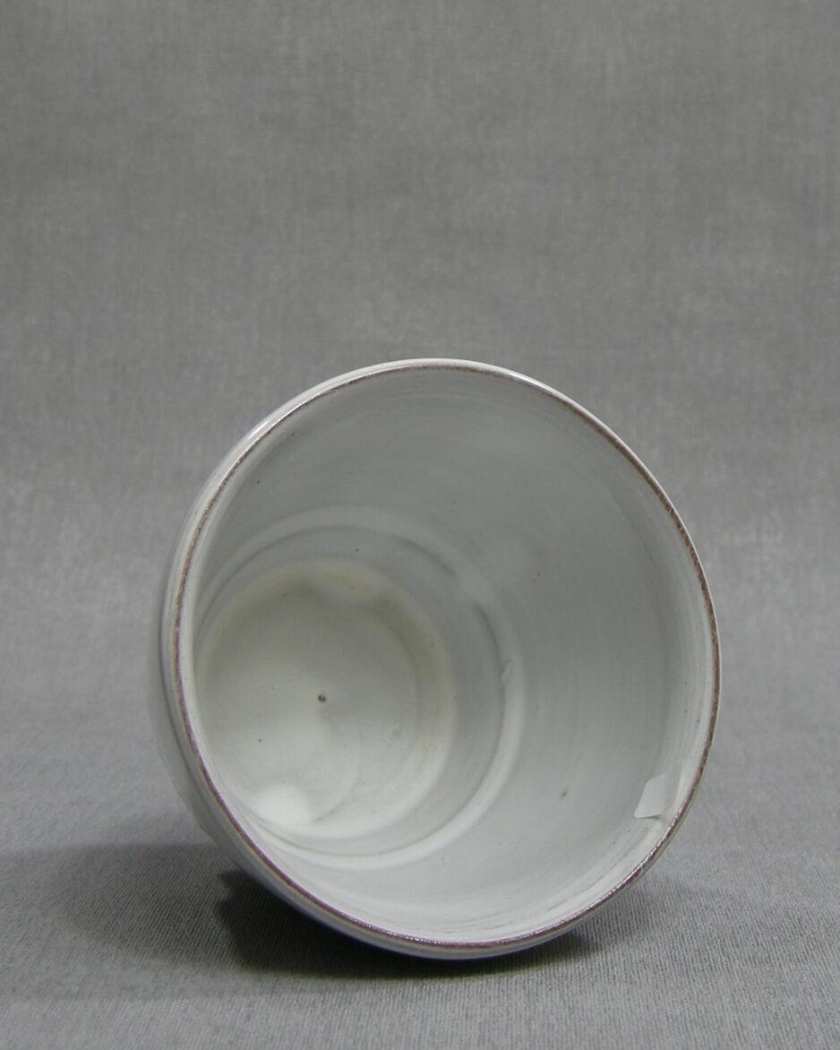 1406 - bloempot ADCO 21171 wit