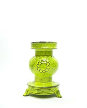 1426 – bloempot kachel geel