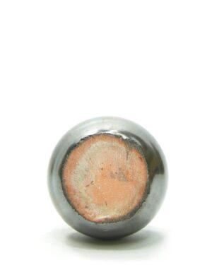 1430 – vaasje metalic bruin (3)