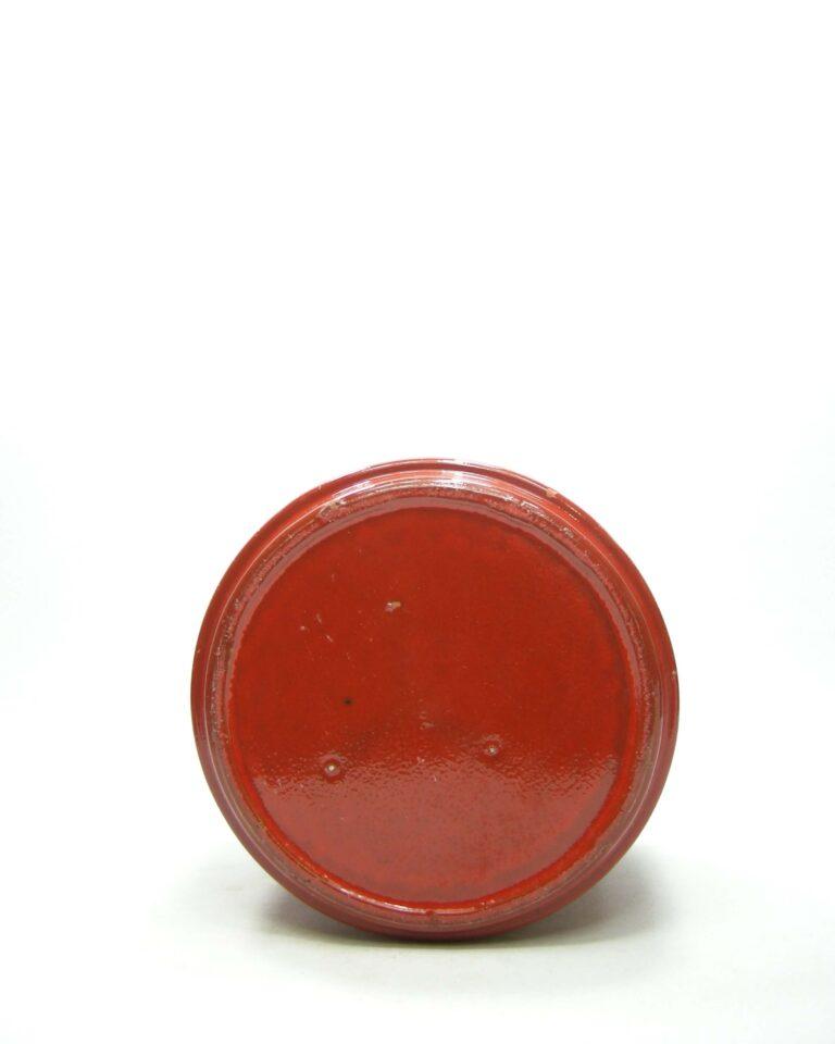 1432 – bloempot ADCO 21124 op stokjes gebakken rood