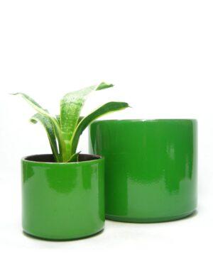 1435 - 1436 - bloempotten ADCO 21191 en 21124 groen