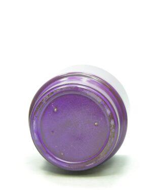 1437 – bloempot ADCO 293 op stokjes gebakken paars
