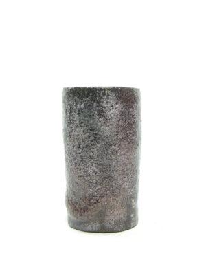 1437 – vaas Pieter Groeneveldt 104 1 paars – zwart