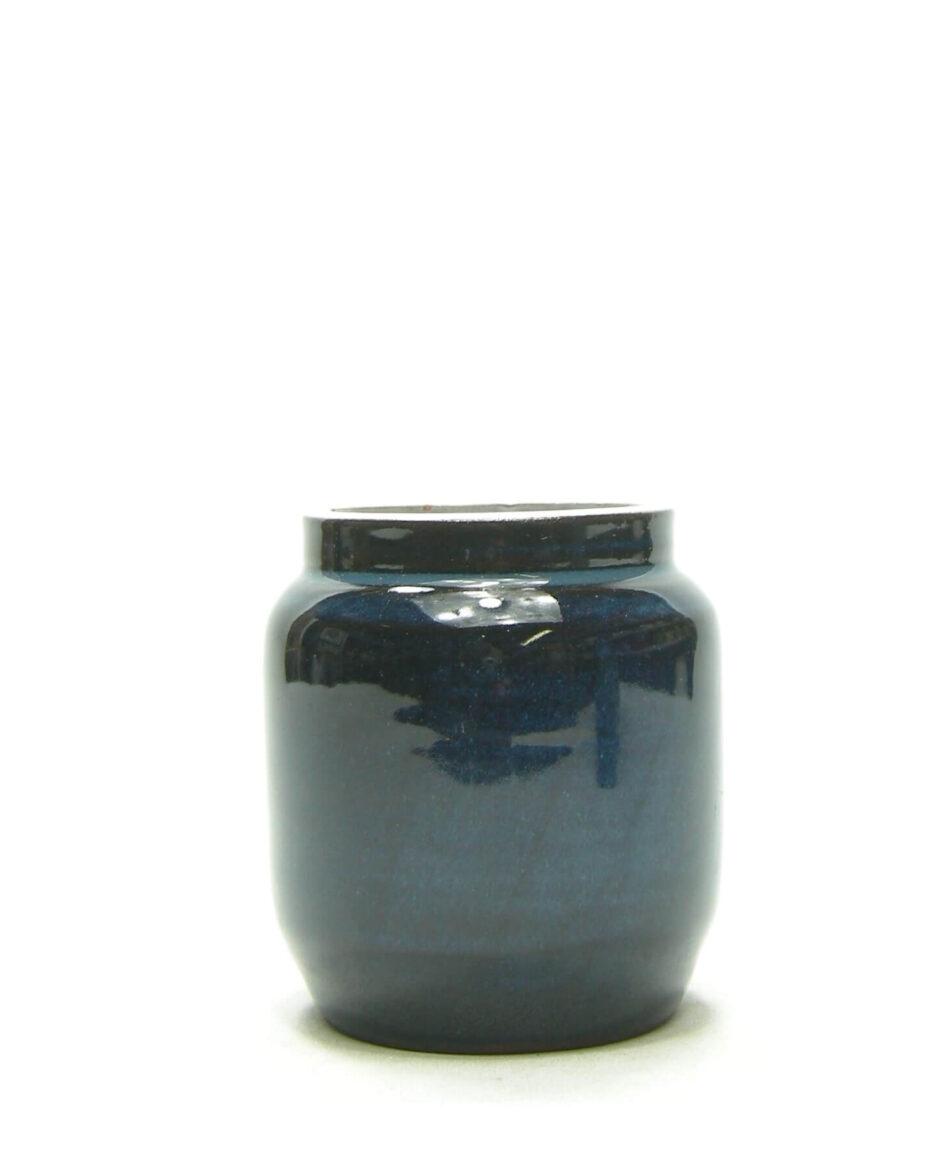 1463 - vaasje Delfos Zoeterwoude blauw