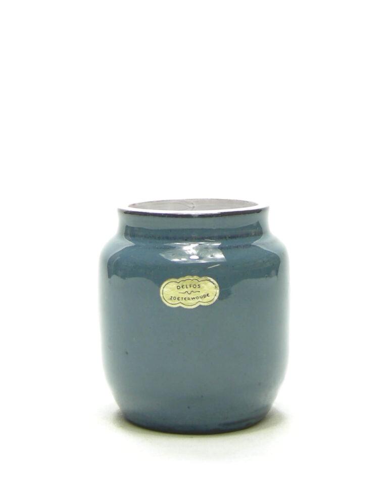 1465 – vaasje Delfos Zoeterwoude blauw