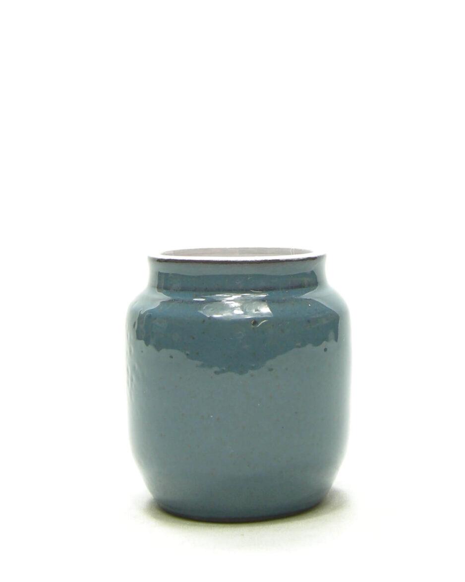 1465 - vaasje Delfos Zoeterwoude blauw