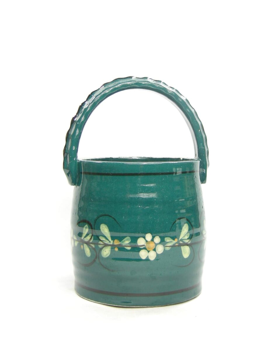 1481 - bloempot Well 56 198 Goebel West Germany groen