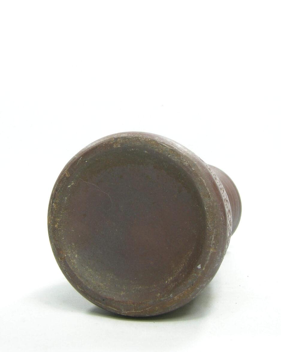 1488 - vaas met motief bruin