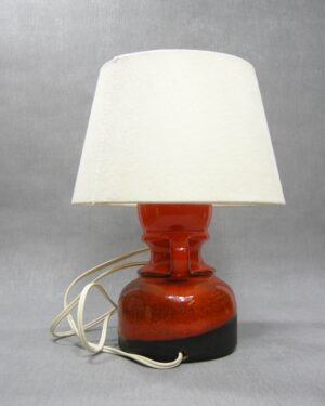 1502 - lamp Steuler 384-15 oranje - bruin
