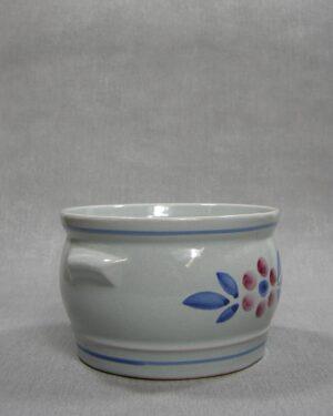1523 – bloempot G 800 – 15 blauw – grijs – rood