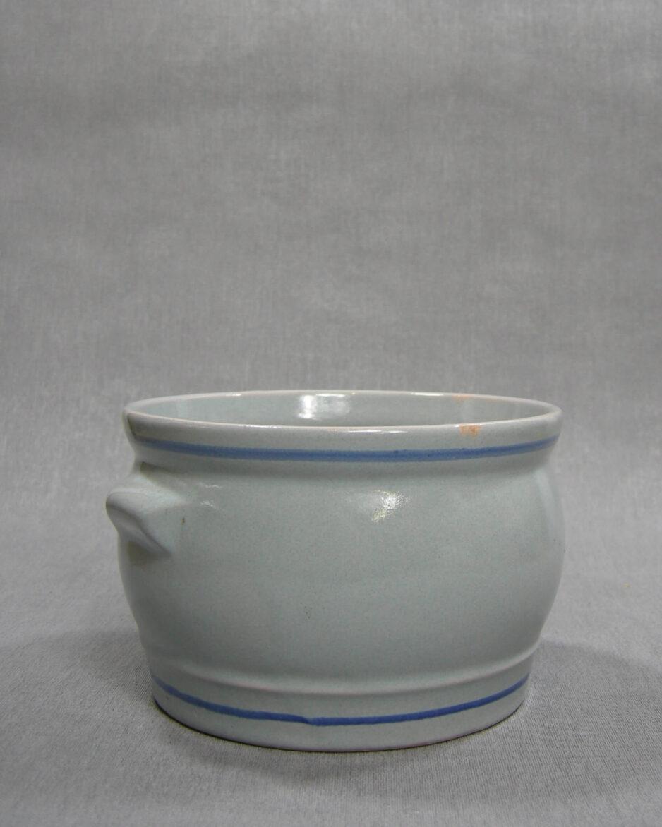 1523 - bloempot G 800 - 15 blauw - grijs - rood