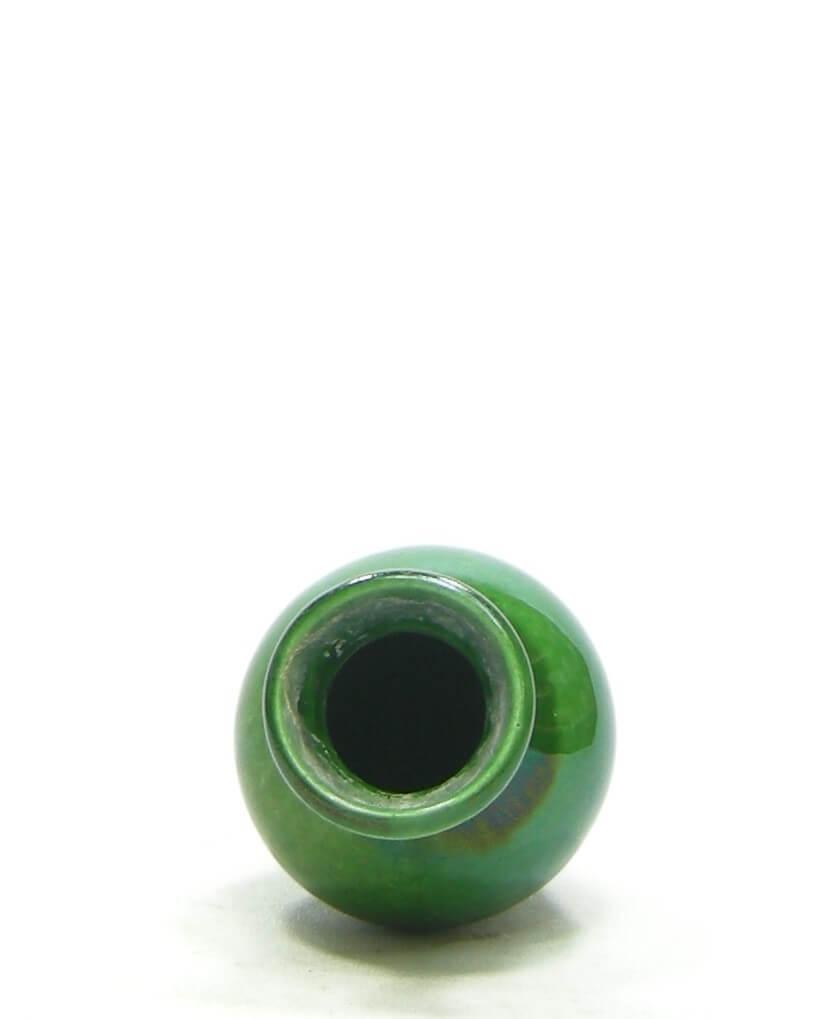 1525 - mini vaasje gesigneerd groen