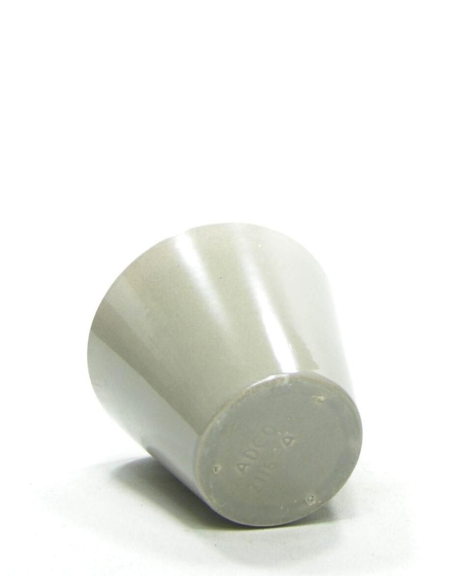 1526 - bloempot ADCO 2116 A grijs op stokjes gebakken