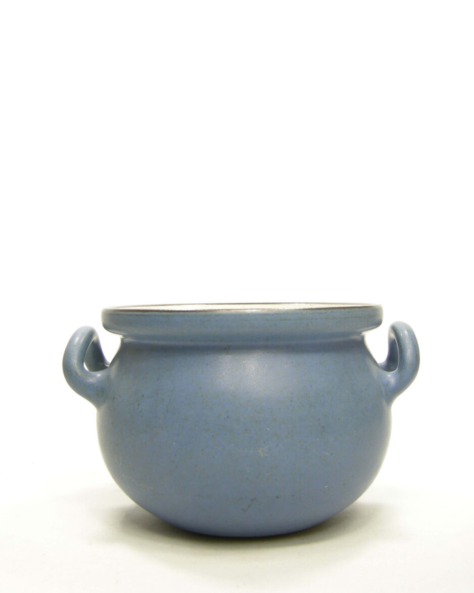 1531 - bloempot Zaalberg Holland blauw