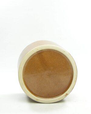 1555 – vintage bloempot retro bruin